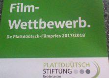 Plattdeutscher Film-Förderpreis 2017/2018